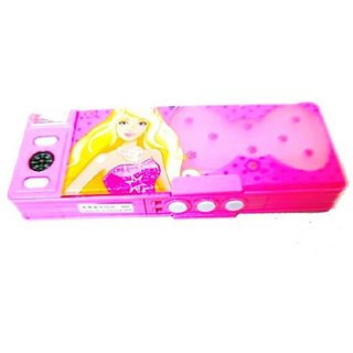 Password Protected Princess Barbie Style Geometry Box for Girls