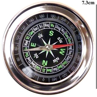 Tiamo Stainless Steel Directional Magnetic Compass 7 cm For Feng Shui  Travel and outdoor hiking