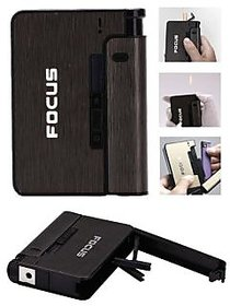 Focus Cigarette Case with Lighter