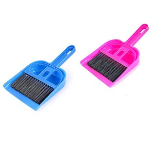 Pack Of 2Pcs Mini Dustpan with Brush for Soft Cleaning - Keyboard, Laptop, Car Sold By Evershine Gifts And Household