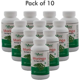 Naturz Ayurveda Moringa 120 Tablets - Pack of 10
