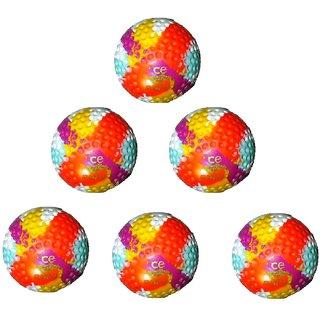 Rhino Dimple Bronze Hockey Turf Ball -Multi Colour (Box of 6 Balls)