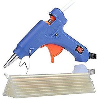 Geetanjali Decor Mini 20 watt hot melt glue gun with 2 glue sticks