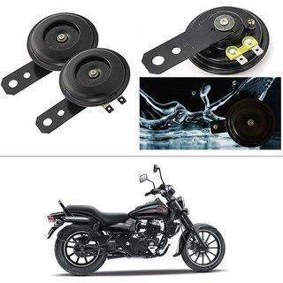 KunjZone Horn 12V 105db Scooter Moped Dirt ATV Motorbike Moto Bikes Horn Loud Air Horns Motorbike Classic Horns (Set of 2) For Bajaj Avenger 220 Street