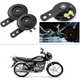 KunjZone Horn 12V 105db Scooter Moped Dirt ATV Motorbike Moto Bikes Horn  Loud Air Horns Motorbike Classic Horns (Set of 2) For Hero Splendor Plus