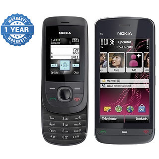 NOKIA 2220 And NOKIA C503 / Good Condition / Certified Pre Owned With 1 Year WarrantyBazaar Warranty