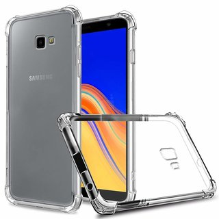 Benicia Soft Fliexible Transparent Bumper Back Case Premium Cover For  Samsung J 4 PLUS