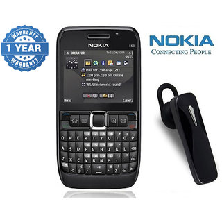 Nokia E63/ Good Condition/ Certified Pre Owned (1 Year Warranty) with Bluetooth