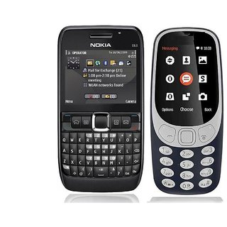Nokia E63 And 3310 Combo / Good Condition / Certified Pre Owned (1 Year Warranty)