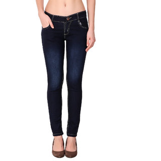 Funky Guys Women's Navy Jeans