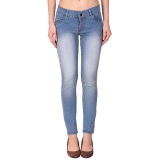 Funky Guys Women's Sky Blue Jeans