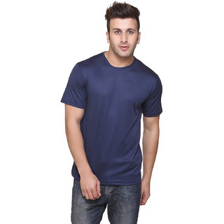 Funky Guys Navyblue Round Neck Slim Fit Tshirt