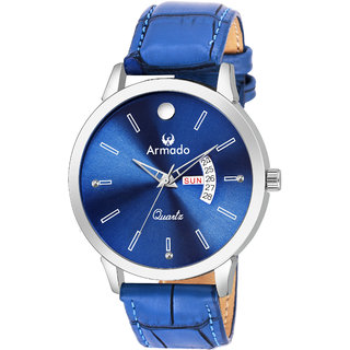 Buy ARMADO AR-4003-BLU DAY N DATE ANALOGUE FOR MEN N BOYS Online - Get 81%  Off 1ed803949d