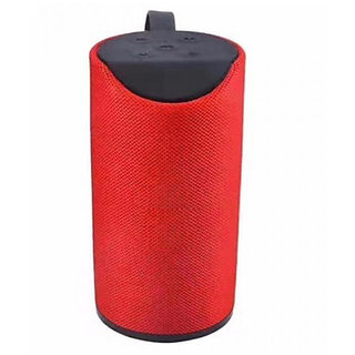 Portable Wireless Bluetooth Speaker For All Mobiles Tablets  PC   Red