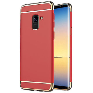 Imperium Luxury 3in1 Electroplated Hard PC Back (Matte Finish) Case Cover for Samsung Galaxy A6