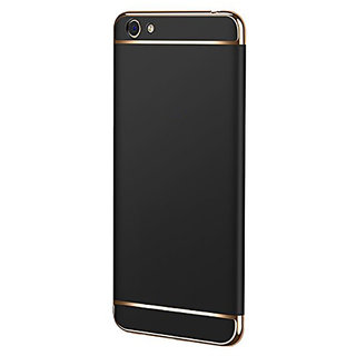 Imperium Luxury 3in1 Electroplated Hard PC Back (Matte Finish) Case Cover for Oppo  A71