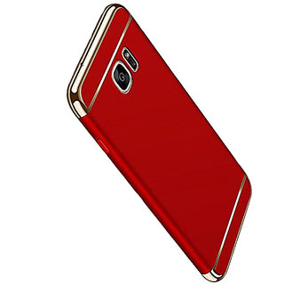 Imperium Luxury 3in1 Electroplated Hard PC Back (Matte Finish) Case Cover for Samsung   Galaxy C9 Pro