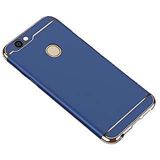 Imperium Luxury 3in1 Electroplated Hard PC Back (Matte Finish) Case Cover for Oppo  F5