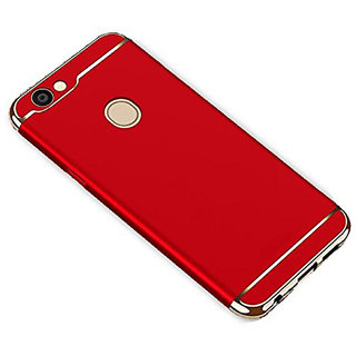 Imperium Luxury 3in1 Electroplated Hard PC Back (Matte Finish) Case Cover for Oppo  F7