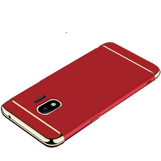 Imperium Luxury 3in1 Electroplated Hard PC Back (Matte Finish) Case Cover for Samsung   Galaxy J4