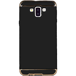 Imperium Luxury 3in1 Electroplated Hard PC Back (Matte Finish) Case Cover for Samsung   Galaxy J7 Duo