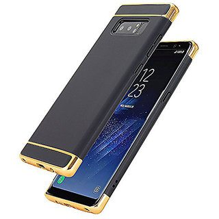 Imperium Luxury 3in1 Electroplated Hard PC Back (Matte Finish) Case Cover for Samsung   Galaxy Note 8