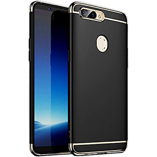 Imperium Luxury 3in1 Electroplated Hard PC Back (Matte Finish) Case Cover for OnePLus  5T