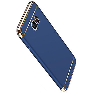 Imperium Luxury 3in1 Electroplated Hard PC Back (Matte Finish) Case Cover for Samsung   Galaxy S7 Edge