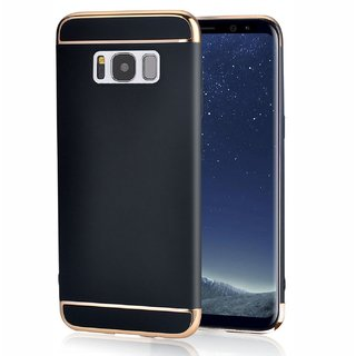 Imperium Luxury 3in1 Electroplated Hard PC Back (Matte Finish) Case Cover for Samsung   Galaxy S8