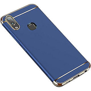 Imperium Luxury 3in1 Electroplated Hard PC Back (Matte Finish) Case Cover for Vivo  V9
