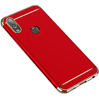 Imperium Luxury 3in1 Electroplated Hard PC Back (Matte Finish) Case Cover for Vivo Y83 Pro