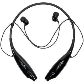 JHP HBS 730 Wireless Bluetooth Headset With Mic  Black