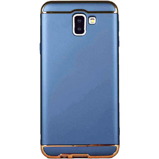 Imperium Luxury 3in1 Electroplated Hard PC Back (Matte Finish) Case Cover for Samsung Galaxy J6 Plus