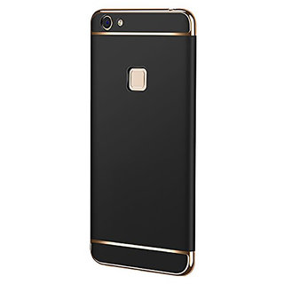 Imperium Luxury 3in1 Electroplated Hard PC Back (Matte Finish) Case Cover for Vivo Y81
