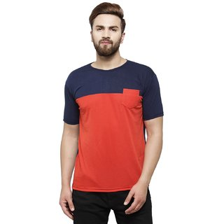 7287a76e031 Buy Rico Sordi Men s Multi color round pocket t-shirt 3 Online ...