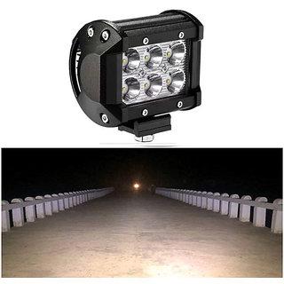 Bike / Motorcycle 6 LED Heavy Duty CREE LED Fog Light / HeadLight / Work Light 1 Pcs