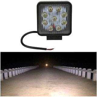 Bike / Motorcycle 9 LED 27w Fog Spot Light / Headlight / Led Smd Auxiliary Light 1 PCS
