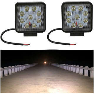 Bike / Motorcycle 9 LED 27w Fog Spot Light / Headlight / Led Smd Auxiliary Light Buy 1 Get ! Free