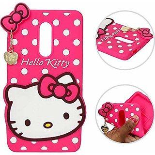 finest selection edb22 4cb28 Hello Kitty back Cover For Huawei Honor 9i ( PINK )