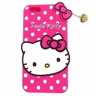 watch 9f2e1 68d47 Hello Kitty Soft back Cover For Oppo A3s ( PINK )