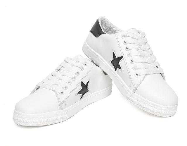 4f529568de0 Buy Vendoz Women Stylish White Casual Shoes Online - Get 4% Off