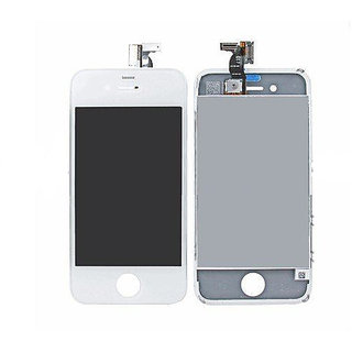 AKM Retina Display Mobile Display for Apple Iphone  4S White Colour Premium Quality  (With Touch Screen Digitizer)
