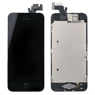 AKM Mobile Display for Apple Iphone  5 Black Colour Premium Quality  (With Touch Screen Digitizer)