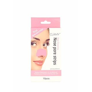 Nose Pore Strip Rose Wax Strips for 10 Pcs