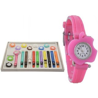 HRV Multicolor and 11 Belt Watch FOR KID