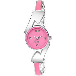 HRV Pink Dial Chain Best analog Women Watch