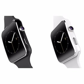Style Maniac Z-4 Bluetooth Smart Watch Compatible With Android  Square Unisex Smart watch With Sim and With Bluetooth