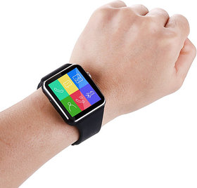 Style Maniac Z-10Bluetooth Smart Watch Compatible With Android Square Unisex Smart watch With Sim