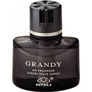 Quality Branded Grandy 150 Ml Car Perfume Air Freshener For Car -Black