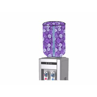 HomeStore-YEP PVC Water Dispenser Bottle Cover with Water Lavel Indication (Multicolor, for 20 LTR) M-10